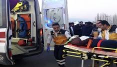Iğdırda trafik kazası: 2 ölü, 1 yaralı
