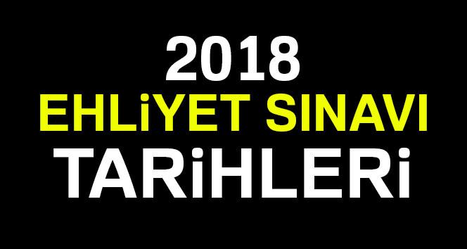 2018 Ehliyet Sınavı tarihleri ? MEB 2018 Ehliyet Sınavı ne zaman?