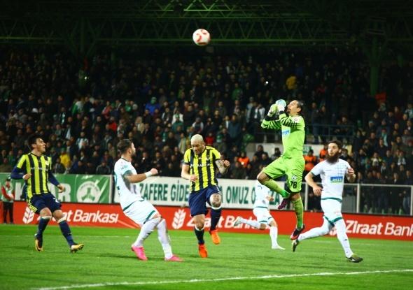 Giresunspor Fenerbahçe Maçından Kareler