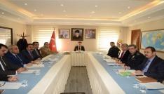 İl Trafik Komisyonu toplantısı yapıldı