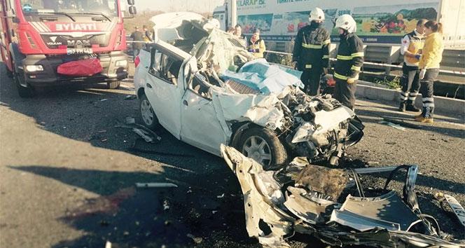 Samsunda feci kaza: 2 ölü