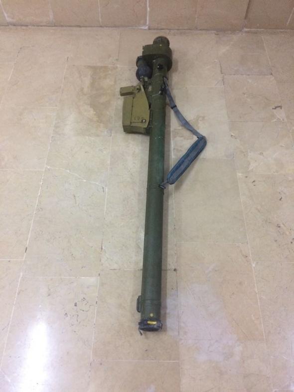 TSK, Zeytin Dalı Harekatında ele geçirilen silahları paylaştı