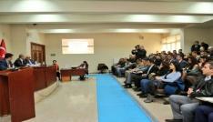 Tuncelide Güvenli Okul Projesi  toplantısı