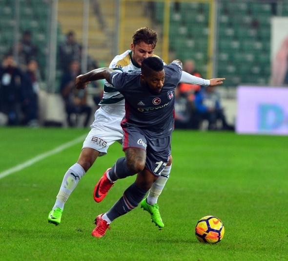 Bursaspor Beşiktaş Maçından Kareler