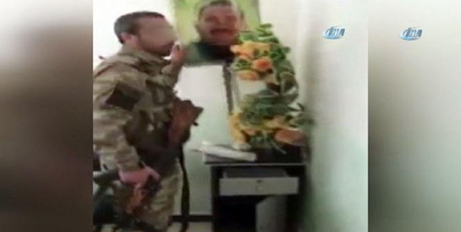 Türk askerlerinin Bülbül'deki görüntüleri