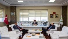 Ceza infaz kurum müdüründen Rektör Almaya ziyaret