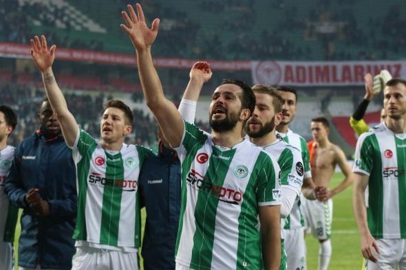 Konyaspor Başakşehir Maçından Kareler