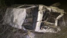 Torulda otomobil uçuruma yuvarlandı: 1 ölü