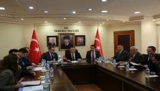 Tuncelide FKA Teknik Destek Programı kapsamında kabul edilen projeler imzalandı
