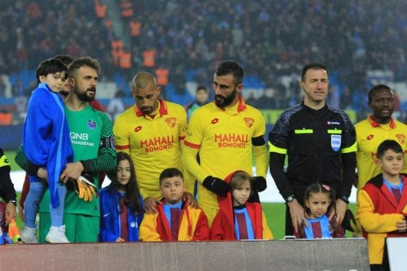Trabzonspor - Göztepe maçından kareler