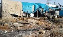 PYD'li teröristler mülteci kampına saldırdı!