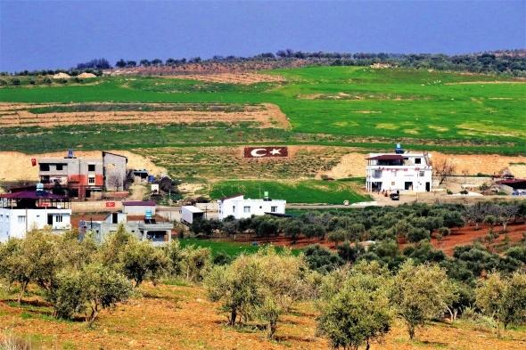 Sınır köyleri kırmızı-beyaz