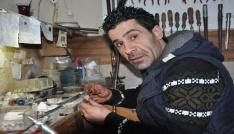 Uşaklı takı tasarımcısının el emeği ürünleri Türkiye sınırlarını aştı