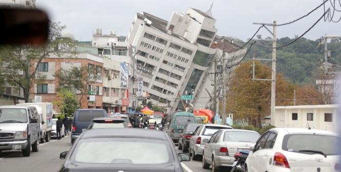 Tayvan'da 6,4 büyüklüğünde deprem: 4 ölü, 225 yaralı