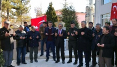 Boğazlıyanlı vatandaşlardan TSKya manevi destek