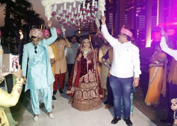 Antalya'da 1 milyon dolarlık Hint düğünü