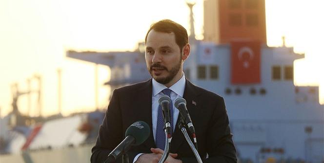 Dünyanın en büyük FSRU gemisini Bakan Albayrak açtı