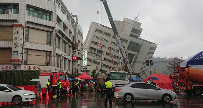Tayvanda 5.7 büyüklüğünde deprem
