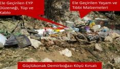 Şırnakta 14 terörist mağarası ve barınak imha edildi