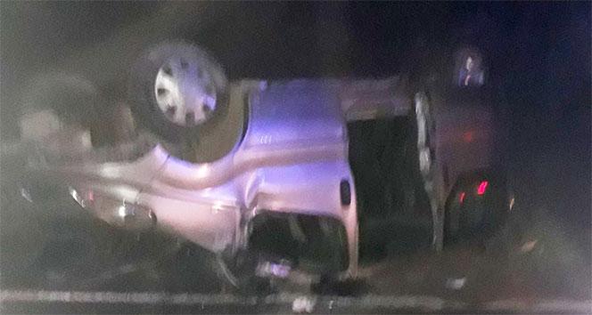 Iraktan dönen minibüs kaza yaptı: 11 yaralı