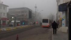 Ağrıda yoğun sis