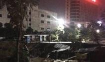 Çin'de yol çöktü: 8 ölü