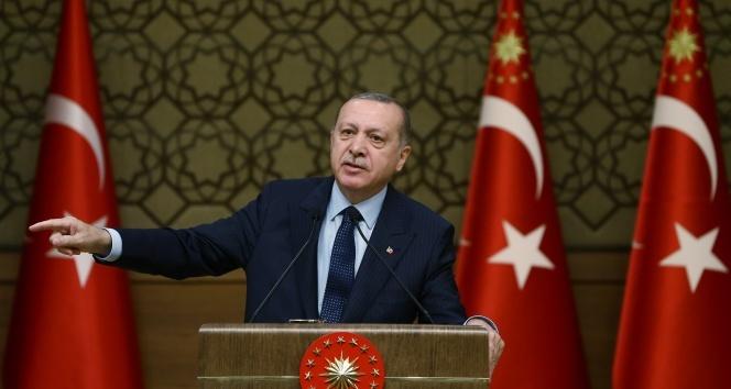 Başkan Erdoğan: İçeride ve dışarıda sinsi rakiplerimiz var