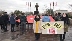 Öğrencilerden Afrin operasyonuna destek