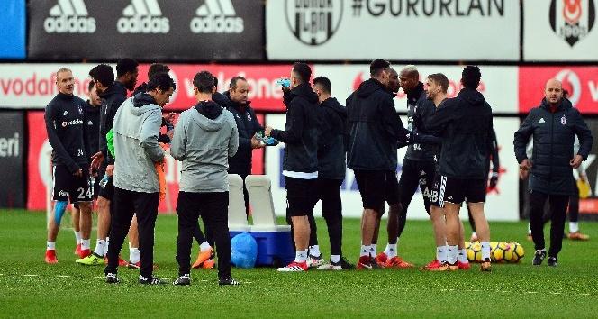 Beşiktaş, Karabükspor maçı hazırlıklarını sürdürdü