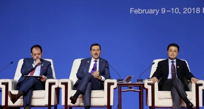 Bakan Tüfenkci, Çinde E-ticaret konferansına katıldı