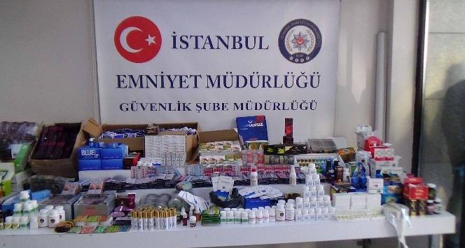 İstanbul'da sahte ilaç operasyonu: 205 bin 396 ürün ele geçirildi
