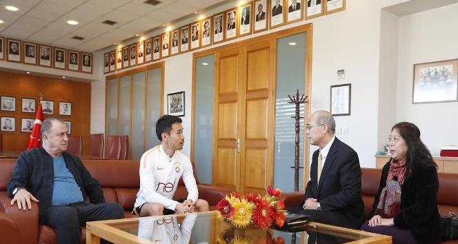 Japonya Başkonsolosu Ehara'dan Florya'ya ziyaret
