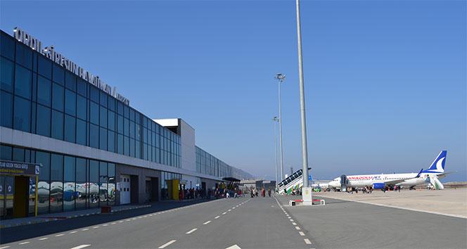 Ordu-Giresun Havalimanında rekor artış