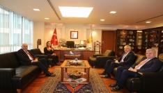 ETSO, Büyükelçi Volkan Türk Vuralı ağırladı