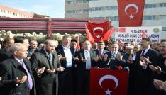 Kırıkkaleli koyun yetiştiricilerinden Zeytin Dalına destek