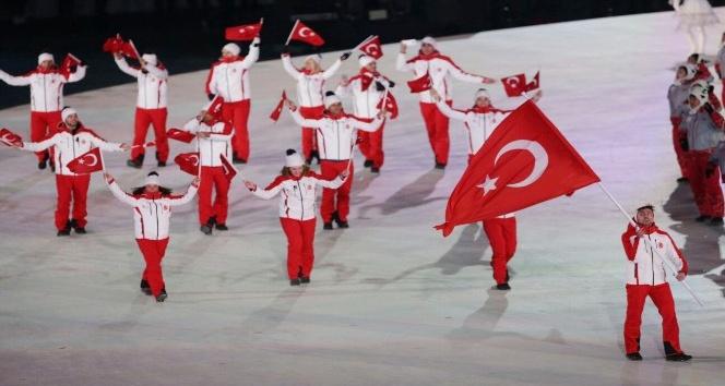 Bakan Osman Aşkın Bak, Güney Kore'de Kış Olimpiyat Oyunları açılış törenine katıldı