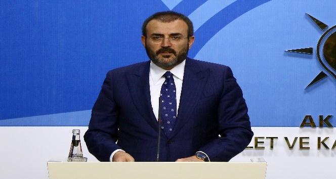 """AK Parti Sözcüsü Ünal: """"ÖSO üzerinden bir terör algısı oluşturmaya çalışan bir CHP var karşımızda"""""""