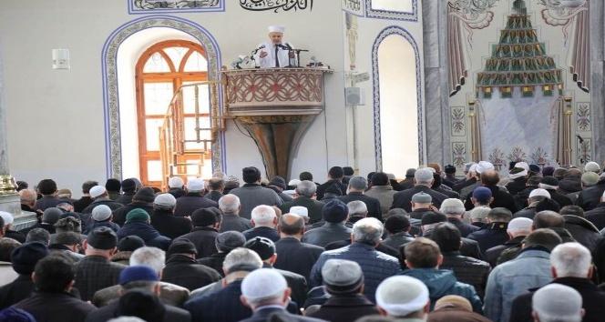 Afrin'deki Mehmetçikler için 'Fetih Suresi' okundu