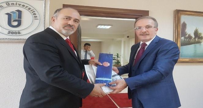 İhlas Haber Ajansından Rektör Orhan Uzuna ziyaret