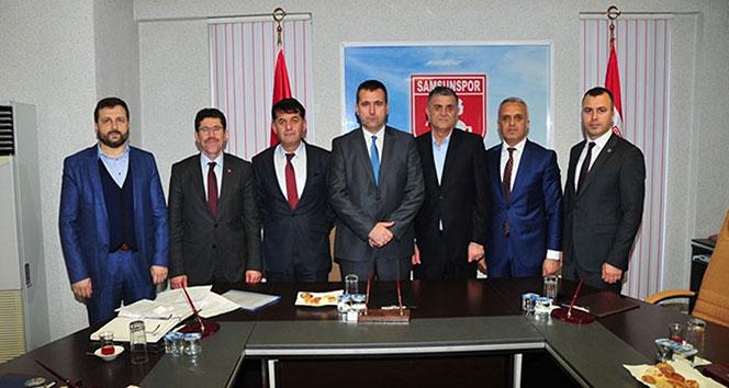 Samsunsporda kayyum görev dağılımı yapıldı