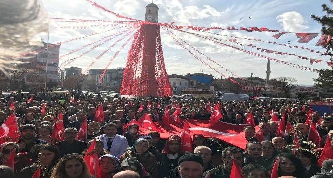 Çorum'da Afrin'e destek mitingi