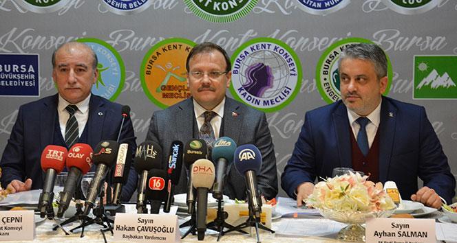 Başbakan Yardımcısı Çavuşoğlundan Uludağ yorumu