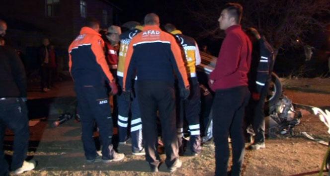 Feci kaza: 1 şehit 2 kişi hayatını kaybetti