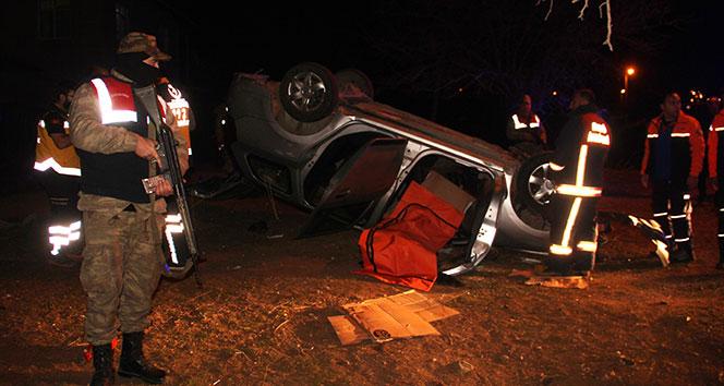 Elazığda trafik kazası: 1 polis şehit