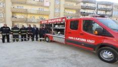 Şırnak Belediyesi, arama kurtarma aracı aldı