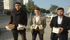 Üniversiteli gençlerden örnek kampanya