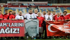 Şehit Ömer Halisdemir anısına dostluk maçı
