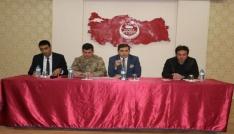 Tutakta Okul Güvenliği toplantısı yapıldı