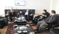 Engellilerden Başkan Bedirhanoğluna ziyaret