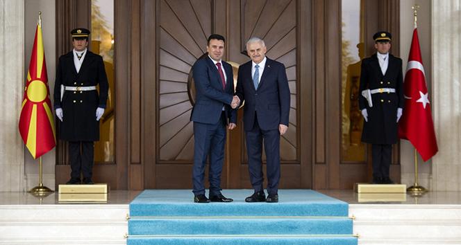Makedonya Başbakanı Ankara'da